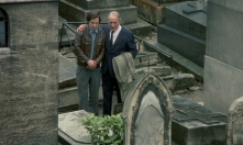 Antoine and Monsieur Lucien at Gilberte's grave